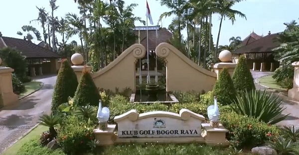 Klub Golf Bogor Raya depan
