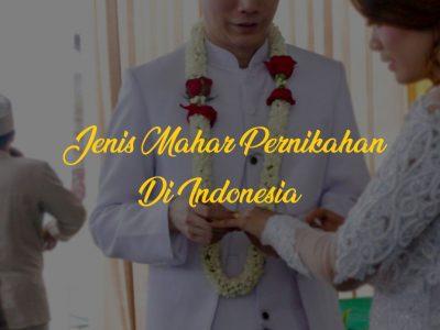 jenis mahar pernikahan di indonesia