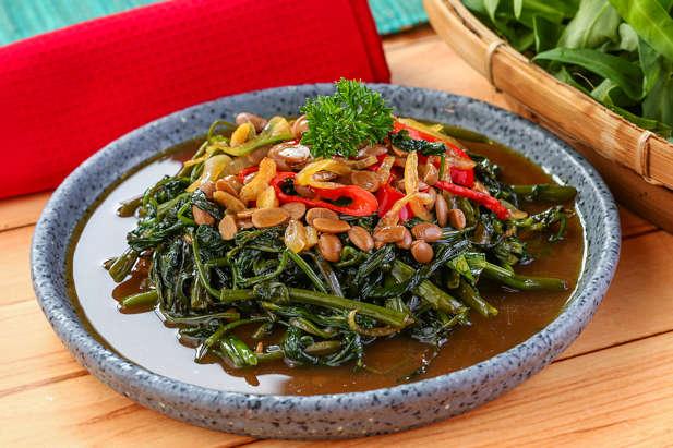 2 resep kangkung tauco tiram